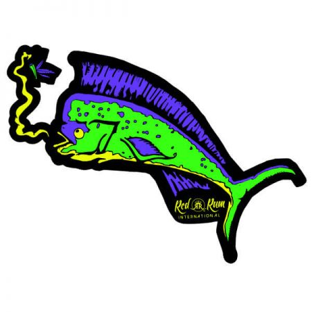 Mahi Mahi Stickers | Fishing Stickers | Red Rum